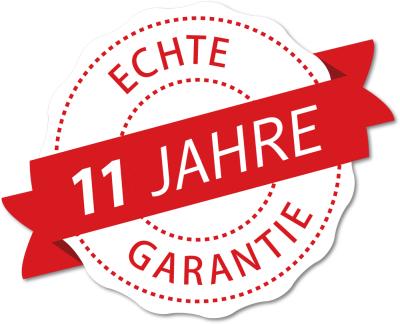 11 Jahre Garantie ELMAR